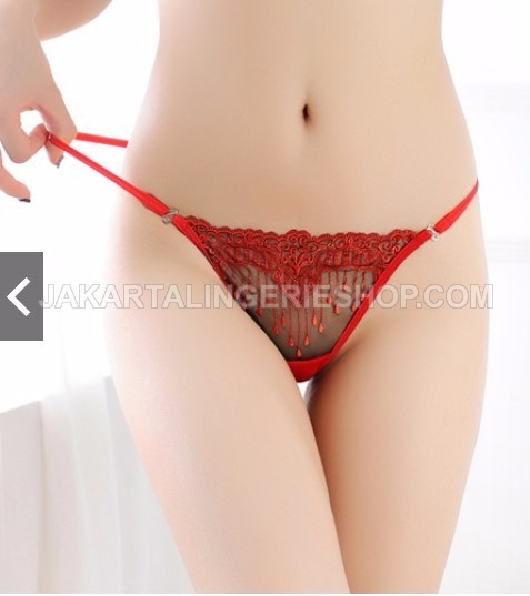 JLG123 Embroidery Sexy Gstring