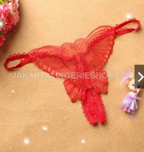JLG136 Little Butterfly (Red Only)